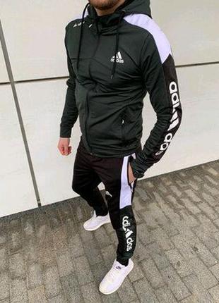 Мужской спортивный костюм adidas.Спортивные летние костюмы адидас