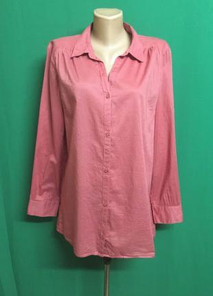 Батистовая длинная рубашка divided с удлиненной спинкой
