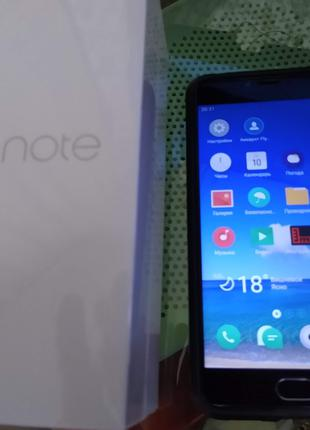 Смартфон Meizu M3 Note 32GB Gray