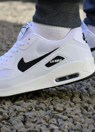 Кроссовки Nike Air Max Кросівки Найк Аир Макс Белые Air Force
