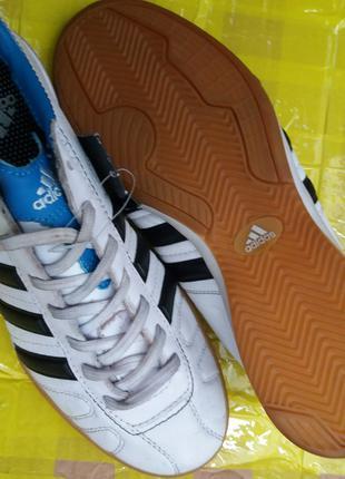 Бутсы (Залки) Adidas кожа взрослые Дёшево.