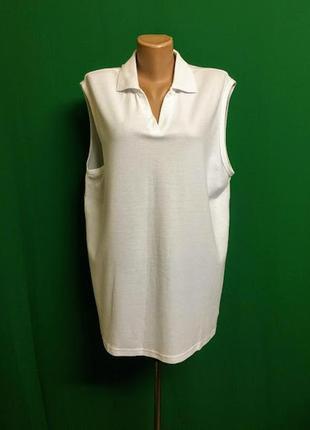 Длинная футболка-поло без рукава cpm the collection