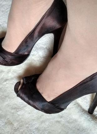 Туфли женские с открытым носком размер 36