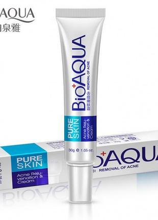 Точечный крем для проблемной кожи от акне и рубцов  bioaqua