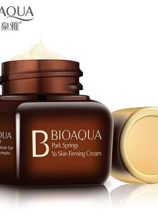 Ночной антивозрастной крем для кожи вокруг глаз от bioaqua