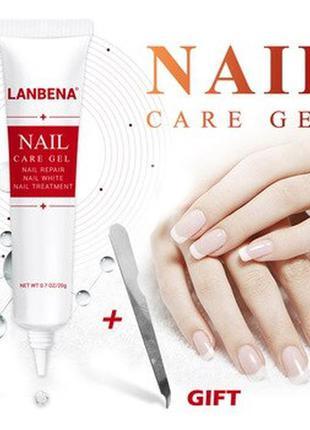 Средство гель противогрибковое лечение  ногтей Lanbena