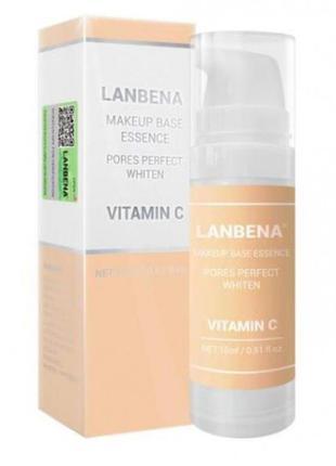 Гелевая база-праймер под макияж от Lanbena с витамином С