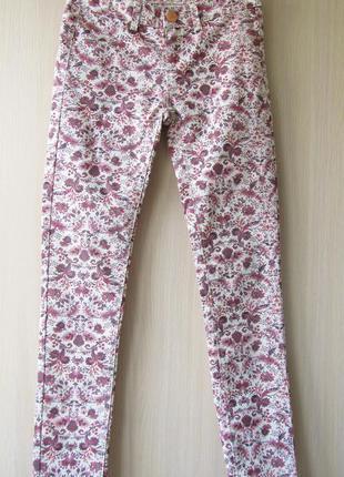 Летние разноцветные джинсы stradivarius / s
