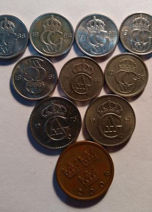 Монети Швеції