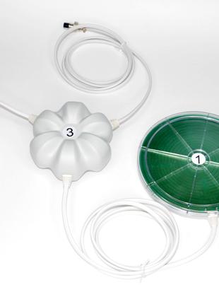 Электростатические шипы Мишина с безиндуктивной катушкой