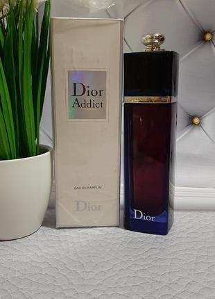 💙оригинал 💙100 мл dior addict eau de parfum 2014 восточный цве...