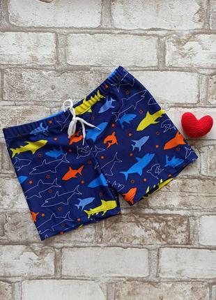 """Классные плавки для мальчика """"акуленок"""""""