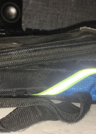 Вело-сумка с держателем телефона на раму любого велосипеда