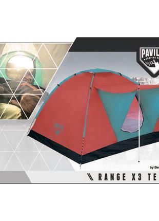Трехместная палатка Bestway Pavillo Range X3 68012