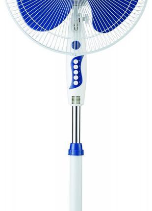 Вентилятор напольный ViLgrand VF401 blue 2 шт.в упаковке, 45 вт