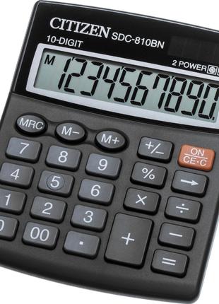 "Калькулятор НОВЫЙ, 10 разрядный, ""CITIZEN SDC-810BN , SDC-810 BN"""
