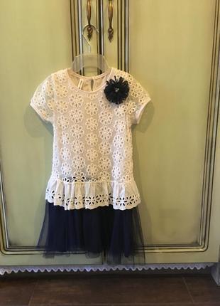 Нарядное платье для девочки memory