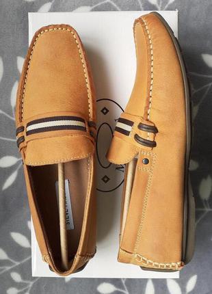 Steve madden ●25-25,5см● мужские кожаные лоферы, мокасины на у...