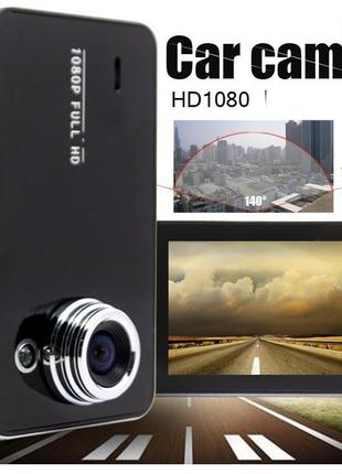 Автомобильный видеорегистратор DVR K6000 Full HD (без HDMI), Виде