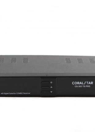 Тюнер спутниковый с т2 COMBO CS 303 TS PRO HD SATELLITE /T2