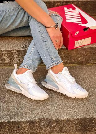 Nike air max 270 женские стильные кроссовки