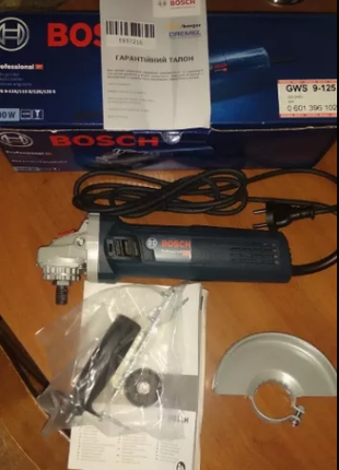 Угловая шлифмашина болгарка BOSCH GWS 9-125 S Professional 060139