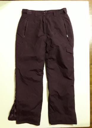 Фирменные теплые зимние лыжные штаны