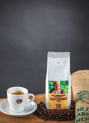 Зерновой кофе Bertschi. Мексика. Швейцарская обжарка 100 арабика