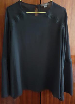 Нарядная вечерняя блуза большого размера