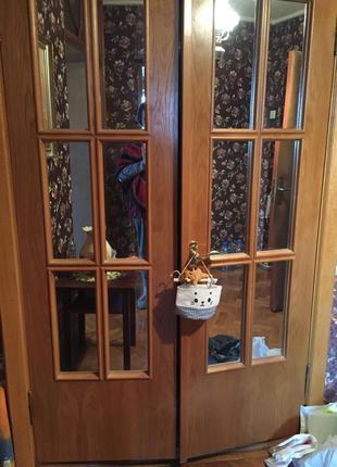 Дверь межкомнатная распашная двойная