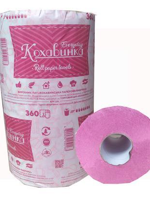 Бумажное полотенце  в рулоне 360 отрывов (570)