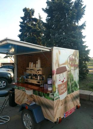 Мобильная кофейня аренда