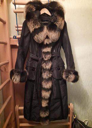 Куртка зимняя длинная (пихор)