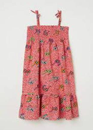 платье котон саафан девочке 6 - 7 лет