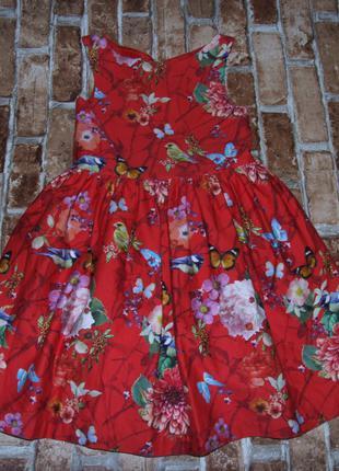 Платье нарядное девочке 9 лет