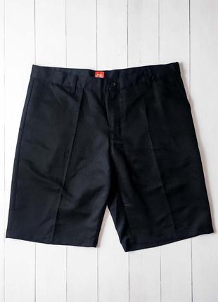 Мужские черные брючные шорты от известного бренда slazenger.