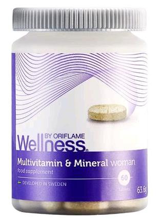 Комплекс «Мультивитамины и минералы» для женщин.