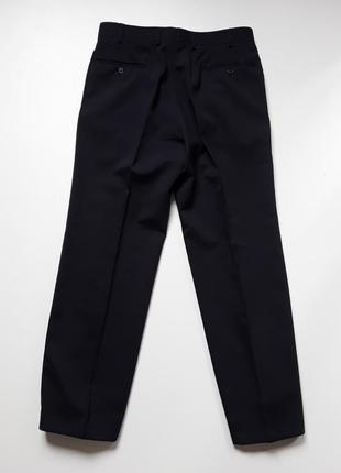 Темно синие  классические брюки