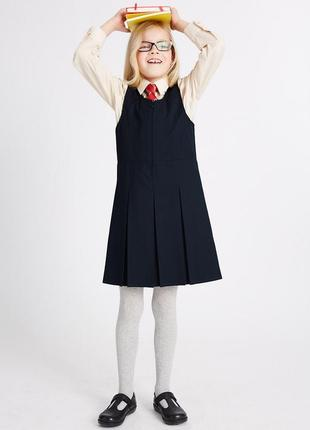 Школьное платье - сарафан    12-14 лет