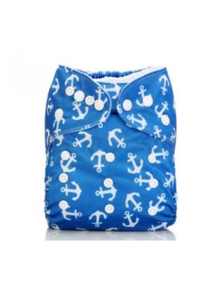 Многоразовый подгузник для мальчика голубой mumbest lux тренир...