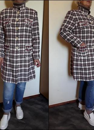 Пальто в стиле chanel тренчкот