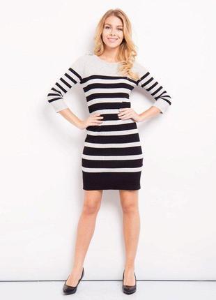 Платье джемпер  в морском стиле жакет 🎁  s. oliver -  6\8 раз