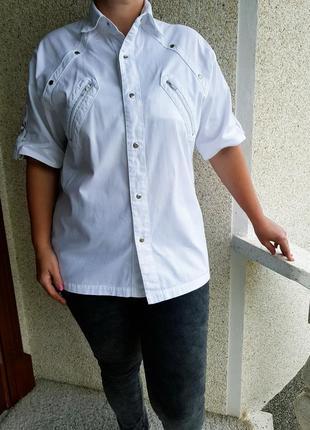 Джинсовка,джинсовый жакет с коротким рукавом