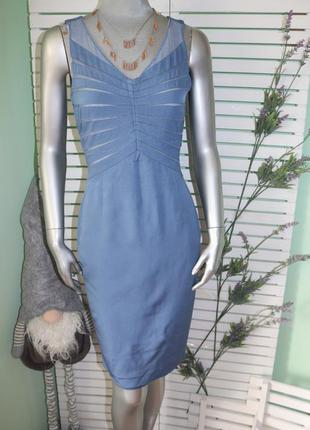 Голубое платье reiss