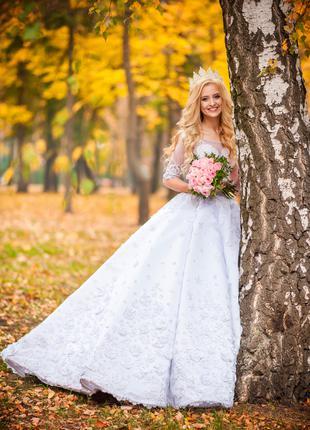 Продам сказочное свадебное платье.