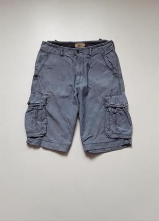 Джинсовые шорты  карго