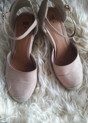 Туфли босонижки h&m