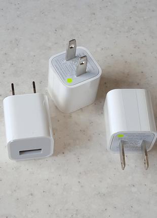 Зарядное устройство Apple (5V 1A 5W USB) оригинал (560)