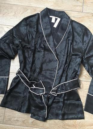 Сатиновый топ пиджак кимоно виктория сикрет