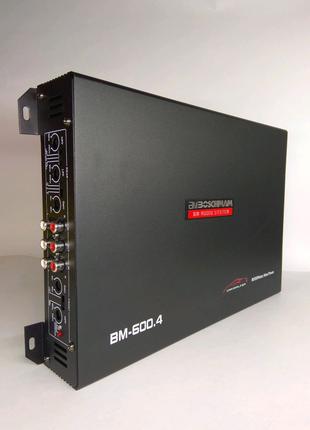 Автомобильный усилитель  Boschman Audio 600.4 8000Вт 4-х канальны